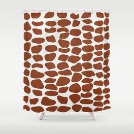 Janina VII Shower Curtain
