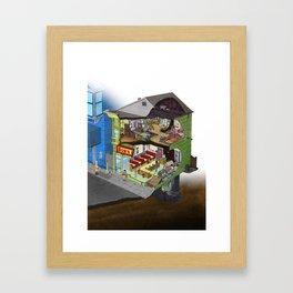 Belcher Residence Framed Art Print