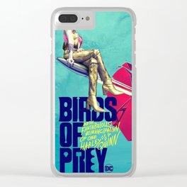 GZSGWLI Birds of Prey 2020 Clear iPhone Case