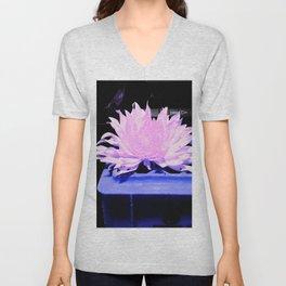 Lonesome Flower 3 Unisex V-Neck