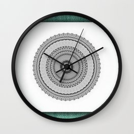 Green West Wall Clock