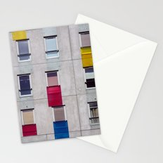 eastern european apartments in colour Stationery Cards
