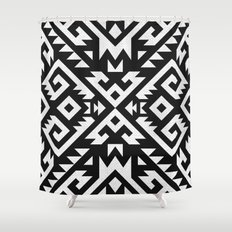 Navajo pattern Shower Curtain