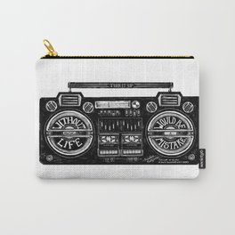 Without Music, Nietzsche Carry-All Pouch
