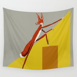 Fox is leaving Wall Tapestry