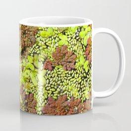 Watercolor Algae, Duckweed and Water Ferns 01, Merchant's Millpond, North Carolina Coffee Mug