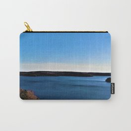 Aerial View of the Scituate Reservoir, Scituate, Rhode Island Carry-All Pouch