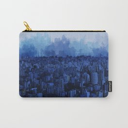 Sampa Blue Carry-All Pouch
