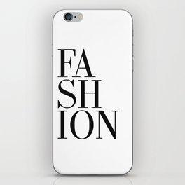 Print / Poster, 'Fashion', Wall Art, Modern iPhone Skin