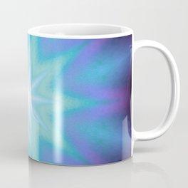 Purple Blue Starburst Coffee Mug