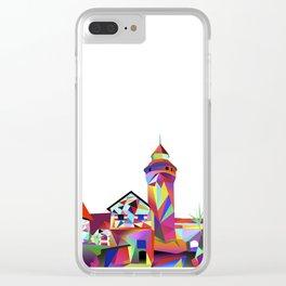 Sinwellturm Nuremberg Clear iPhone Case