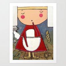 Kitchenette Art Print