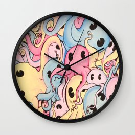 Octopus Garden Wall Clock