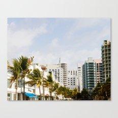 South Beach Vibes Canvas Print