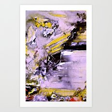 Throw Art Print