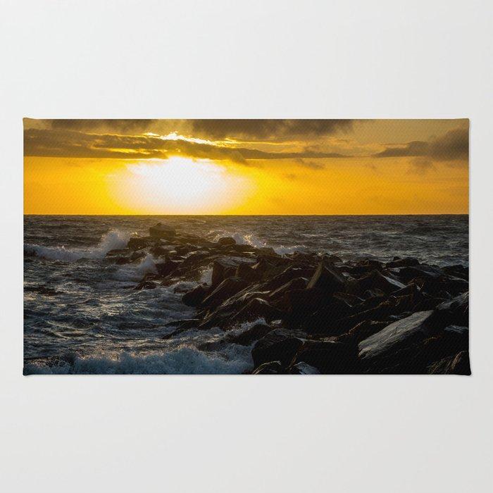 Redondo Beach Sunset Rug