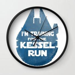 Kessel Run Wall Clock