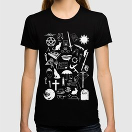 Buffy Symbology, White T-shirt
