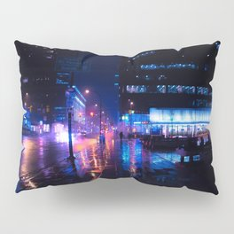 rainy nights in Vancouver Pillow Sham