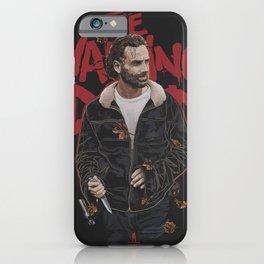 Rick Grimes (The Walking Dead) iPhone Case