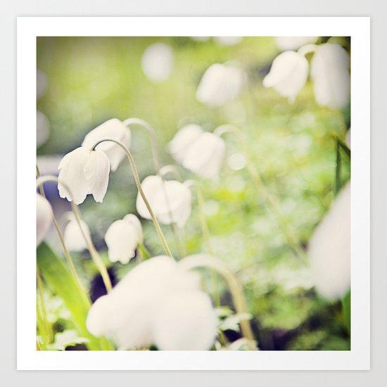 Spring miracles Art Print