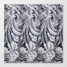 WHITE LACE  #society6 #decor #buyart Canvas Print