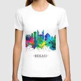 Bekasi Indonesia Skyline T-shirt