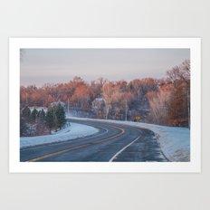 Minnesota Art Print