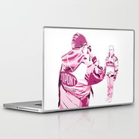 racing Laptop & iPad Skins featuring Racing Fans by Umbrella Design