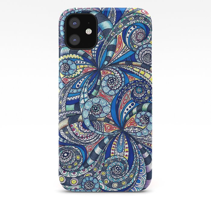 Drawing Floral Abstract Background G7 IPhone Case By