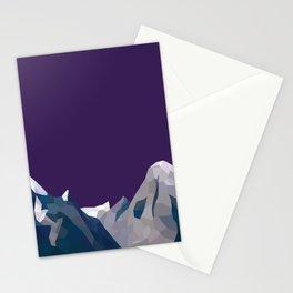 Geo Mountain Range (Part 4) Stationery Cards