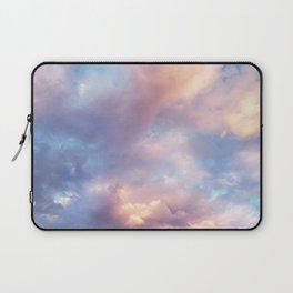 Sunset | Pink Clouds | Sky | Rainbow | Unicorn Colours | Nature Laptop Sleeve