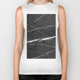 Gray Black Marble Glam #1 #decor #art #society6 Biker Tank