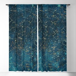 Under Constellations Blackout Curtain