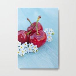 Cherry Beauty Metal Print