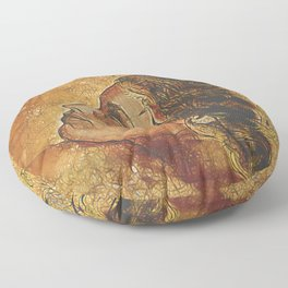 Yearning~ Woman Floor Pillow