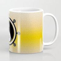 yin yang Mugs featuring Yin yang by Nir P