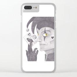 The Court Joker Clear iPhone Case
