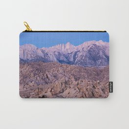 Mount Whitney /view from Movie Flats, Lone Pine, CA. Carry-All Pouch