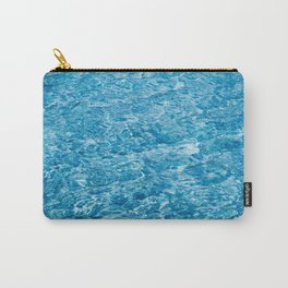 blue colorful pool water Carry-All Pouch
