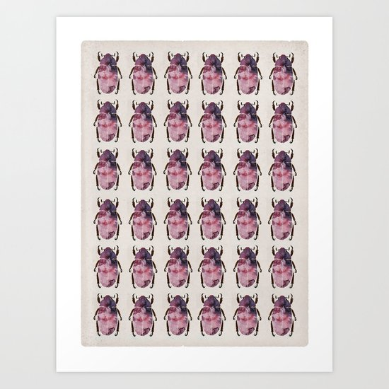 scarab army Art Print