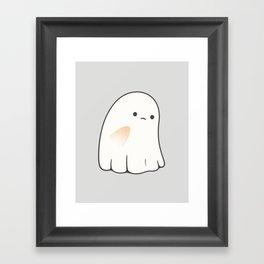 Poor ghost Framed Art Print