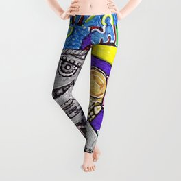 Summer Yum Leggings