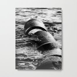 Disconnected Metal Print