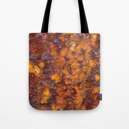 Heavy Rust Tote Bag