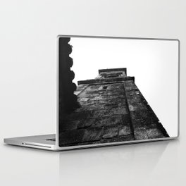 Church Black and white Laptop & iPad Skin