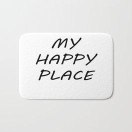 My Happy Place Bath Mat