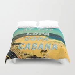 At the Copa Copacabana #1 – A Hell Songbook Edition Duvet Cover