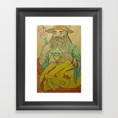20th Wizard Framed Art Print