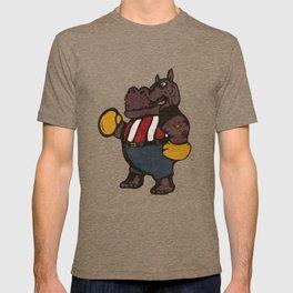 Hippo Pugilist T-shirt